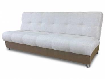 Диван-кровать «Гамма БП» экокожа капучино с мальта беж (S-series)