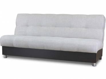 Диван-кровать «Гамма БП» экокожа коричневый с мальта беж (S-series)
