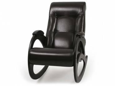 Кресло-качалка «Люкс» черный (S-series)