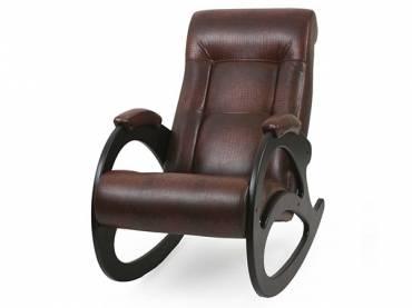 Кресло-качалка «Люкс» коричневый (S-series)